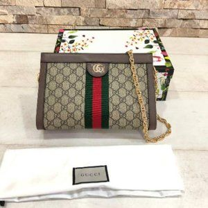 giffi Authenic GUCCI Ophidia GG small shoulder ba